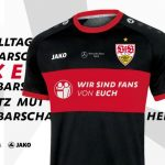 VfB Stuttgart special kit vs Hamburger SV 28 May 2020 | Stuttgart to thank Coronavirus workers