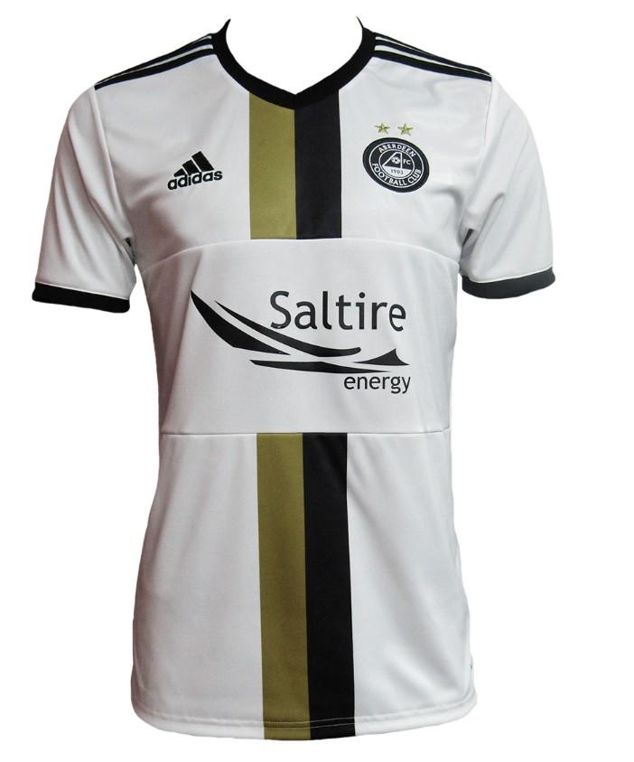 White Aberdeen Strip 2020-21 Black Gold