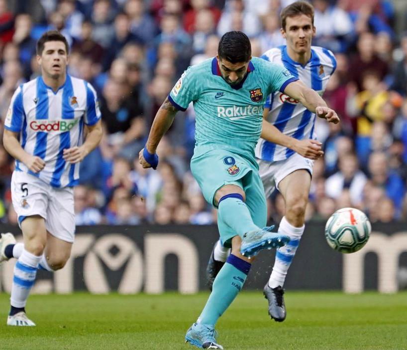 barcelona in third kit vs sociedad 2019