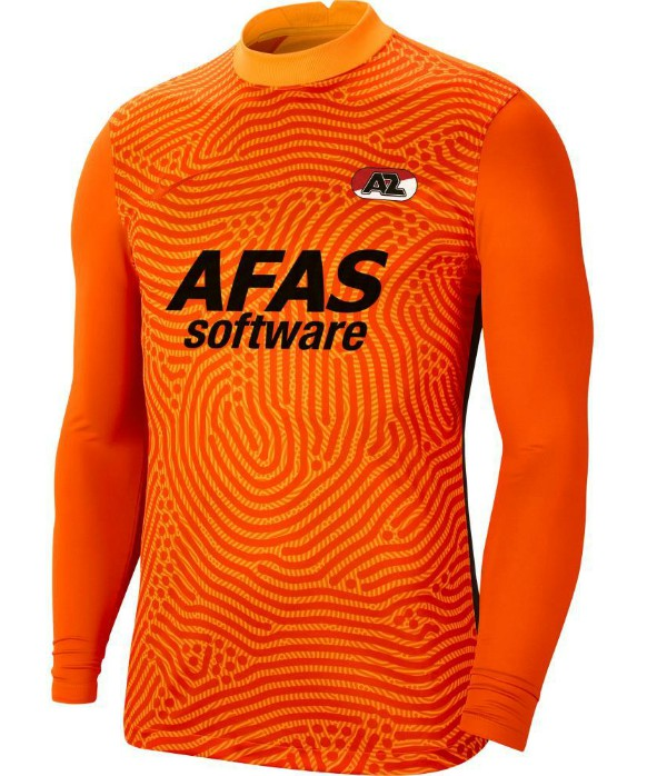 AZ Alkmaar Orange GK Shirt 2020 2021