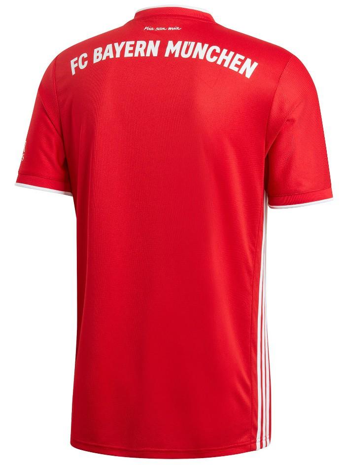 Back of Bayern Munich Home Jersey 2020-21