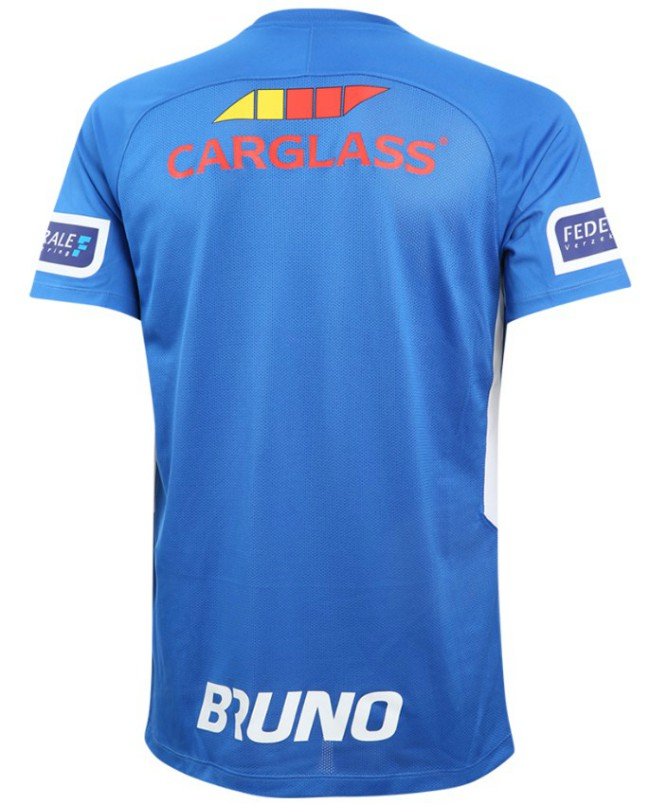 Back of Genk Home Shirt 2020 21