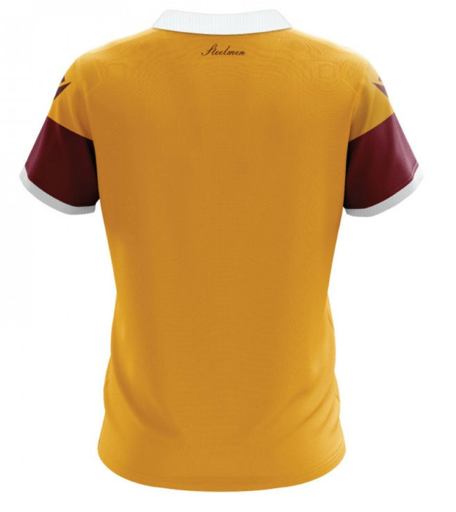 Back of Motherwell Home Jersey 20-21