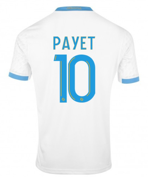 Back of OM Jersey 20-21 Payet