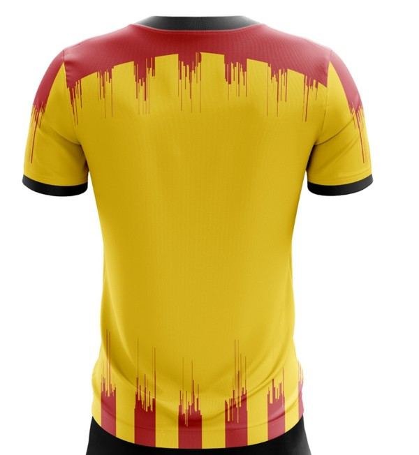 Back of Partick Thistle Home Top 2020-21