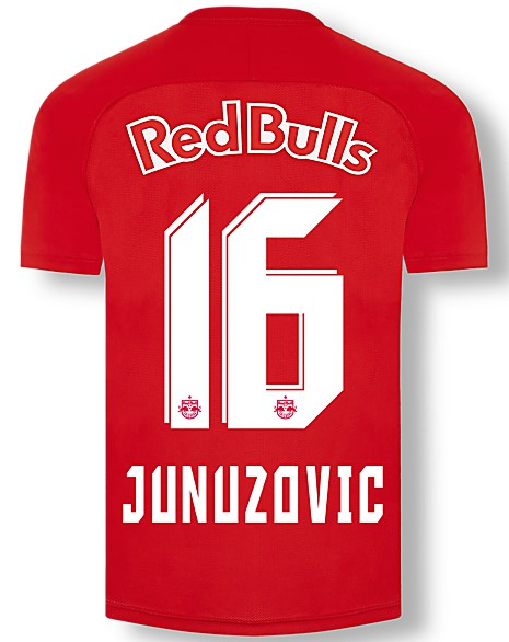 New Red Bull Salzburg Kit 2020 21 Rbs Switch From Stripes To Half Half Design For Home Shirt Football Kit News