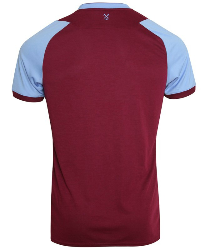 Back of West Ham Home Jersey 20-21