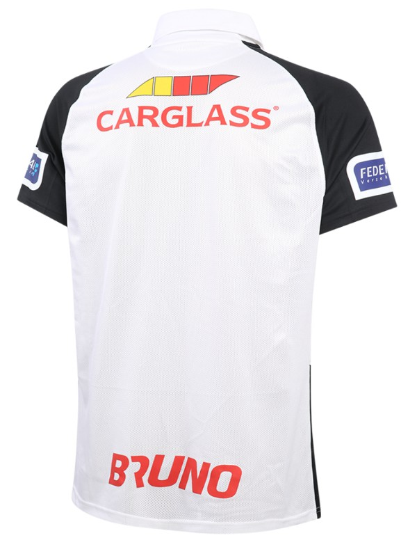 Back of White Genk Away Shirt 2020-2021