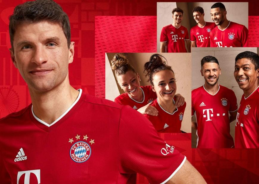 Bayern Munich Kit Launch 2020-21 Photo