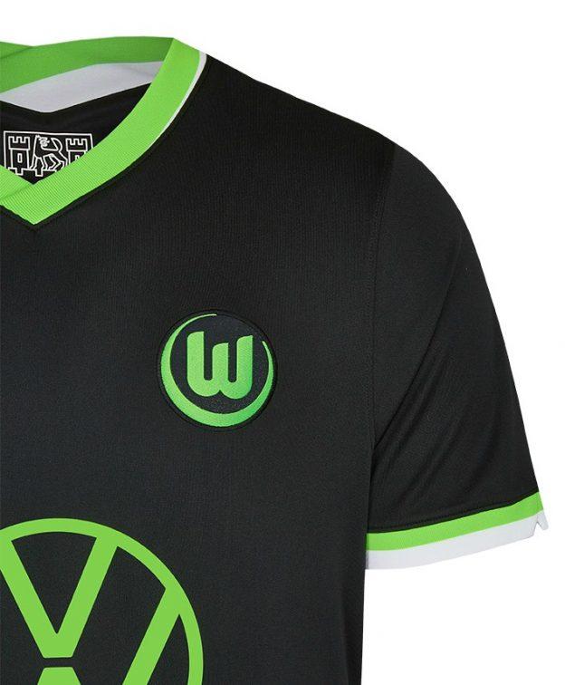 Black Wolfsburg Jersey 2020 21