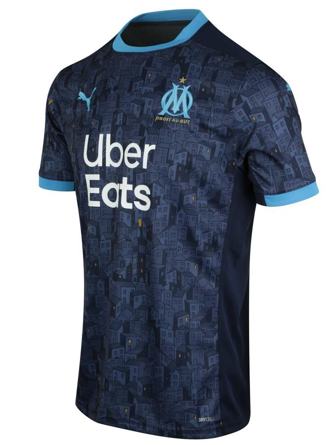 Blue Marseille Away Jersey 2020 2021