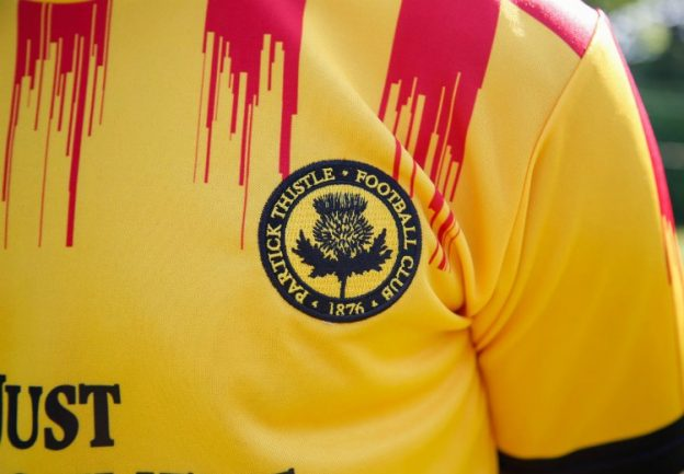 Broken Stripes Partick Thistle New Shirt 20-21