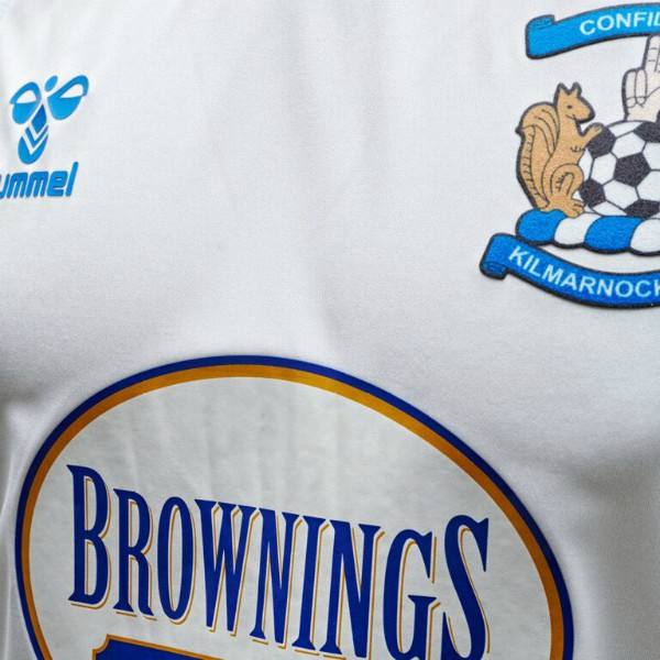 Brownings the Bakers Kilmarnock Away Shirt 20-21
