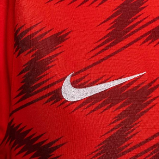 Closeup of Alkmaar Home Shirt 20-21
