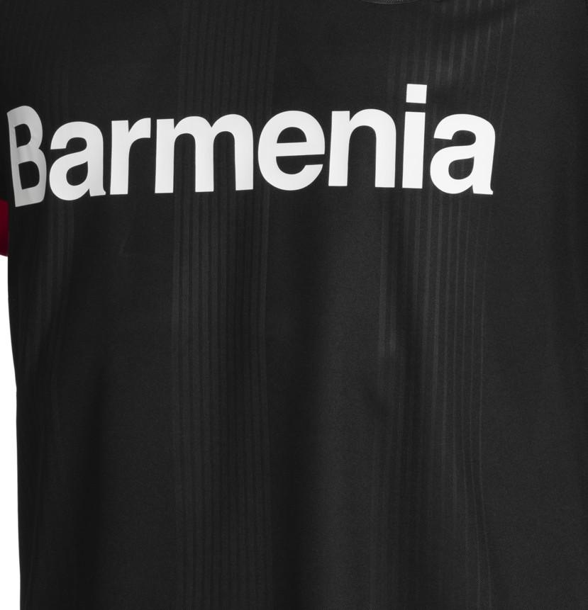 Closeup of Bayer Leverkusen Shirt 20-21