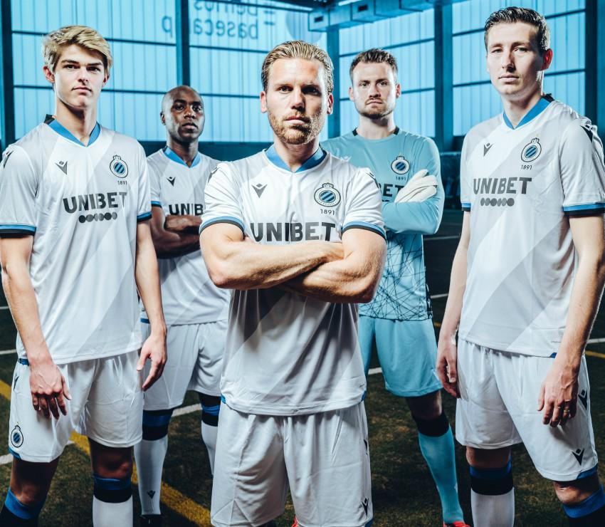 White Grey Brugge Away Shirt 2020-21
