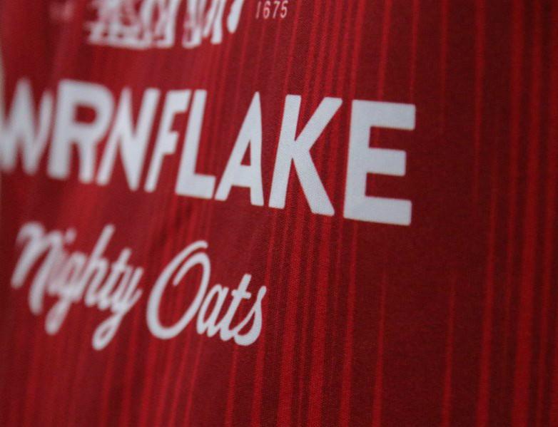 Crewe Alexandra Shirt Closeup