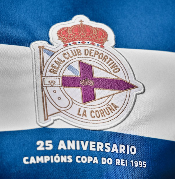 Deportivo La Coruna 1995 Copa del Rey 25th Anniversary