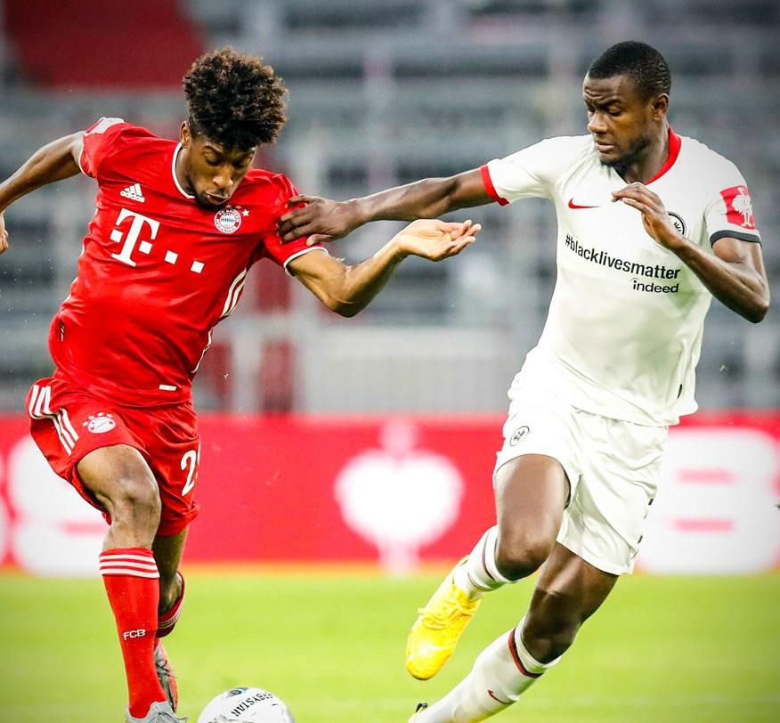 Eintracht Frankfurt BLM Jersey 2020
