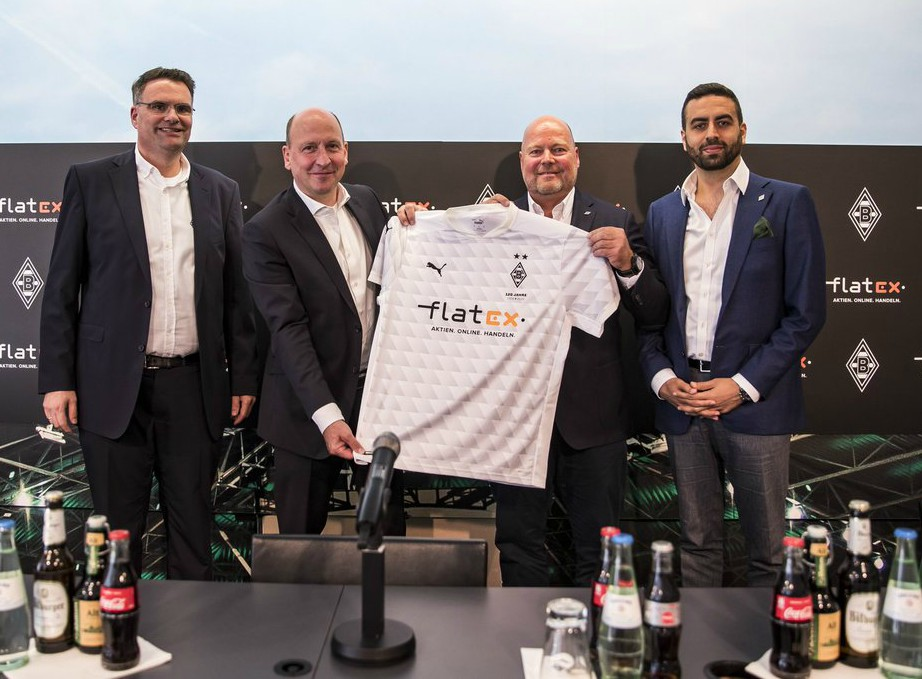 Flatex Gladbach Shirt Sponsor 2020 21