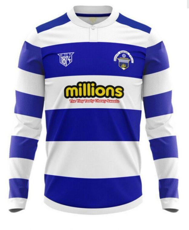 Greenock Morton Home Shirt 2020-2021 Long Sleeve