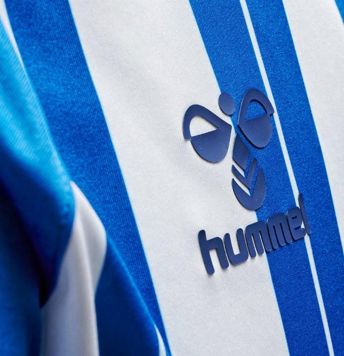 Hummel Logo on Kilmarnock Shirt