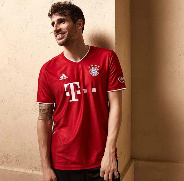 Javi Martinez Bayern Munich Shirt 2020-2021