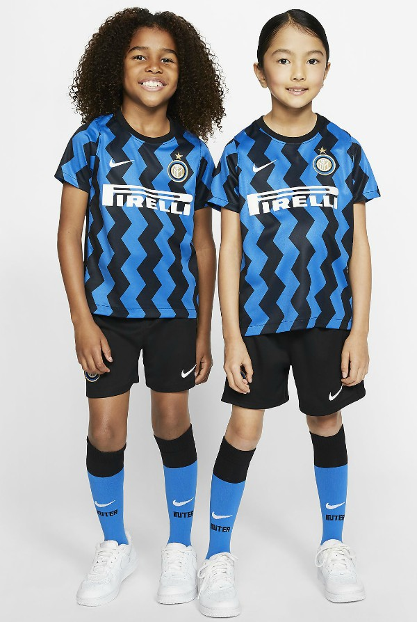 Kids Inter Milan Kit 2020 21