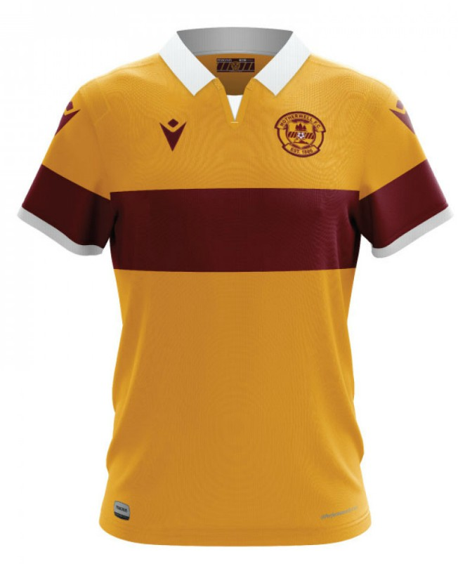 Motherwell New Home Shirt 20-21