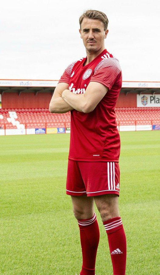 New Accrington Stanley Home Kit 2020 21