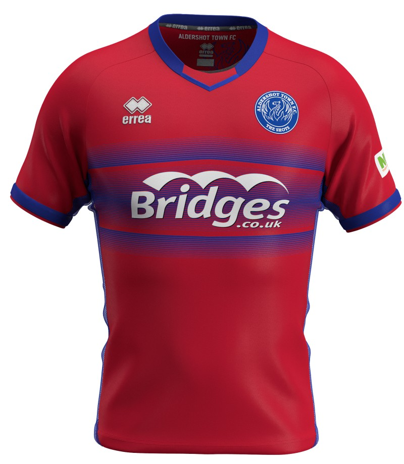 New Aldershot Town Kit 2020 2021