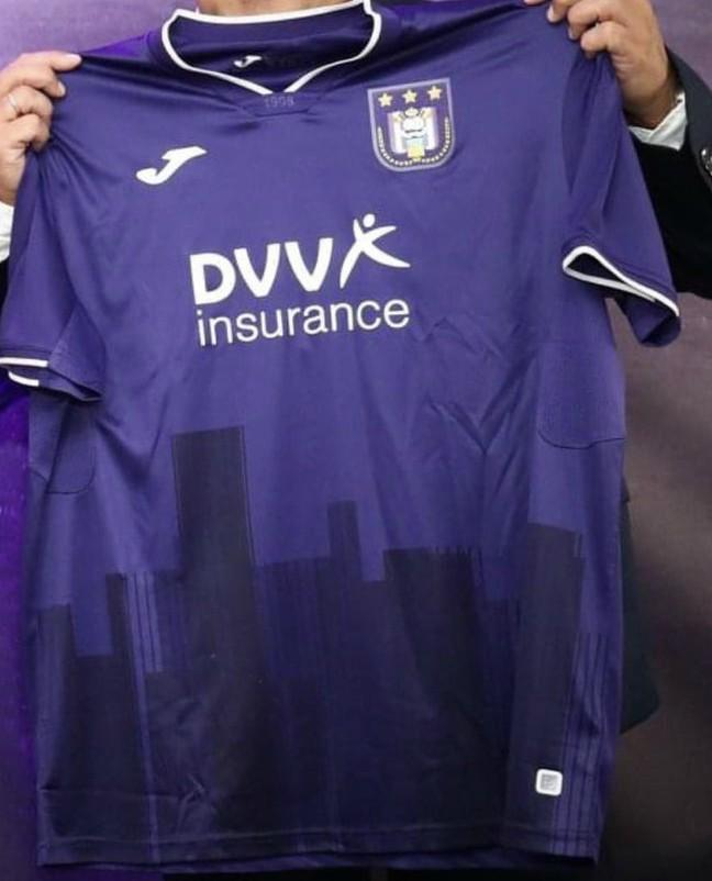 New Anderlecht Jersey 2020 2021