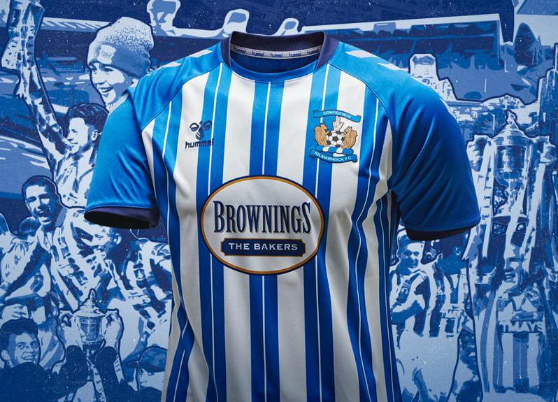 New Killie FC Hummel Top 2020-21