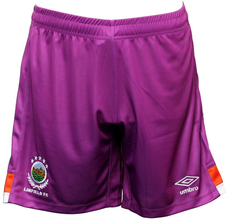 New Linfield FC Away Shorts 2020-21