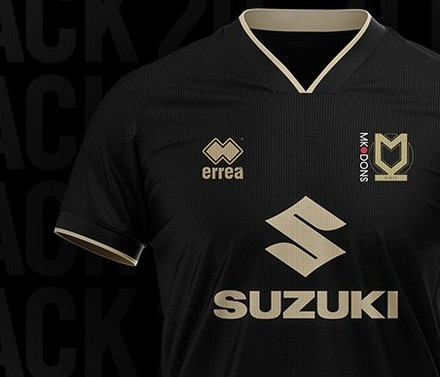 New MK Dons Away Kit 2020-2021