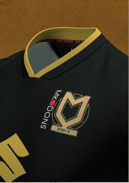 New MK Dons Black Kit 20-21