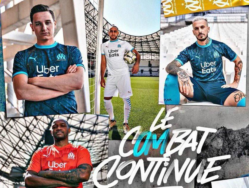 New Marseille Kit 2020-2021