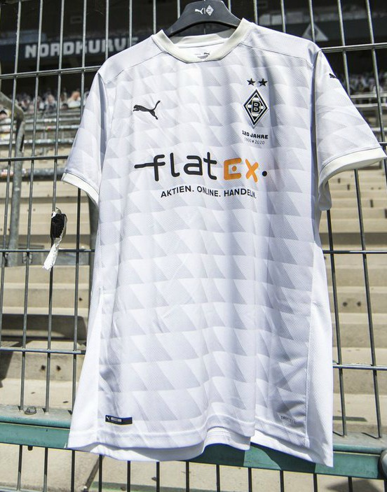 New Borussia Monchengladbach Kit 2020 21 Flatex Replace Postbank As Gladbach Shirt Sponsor Football Kit News