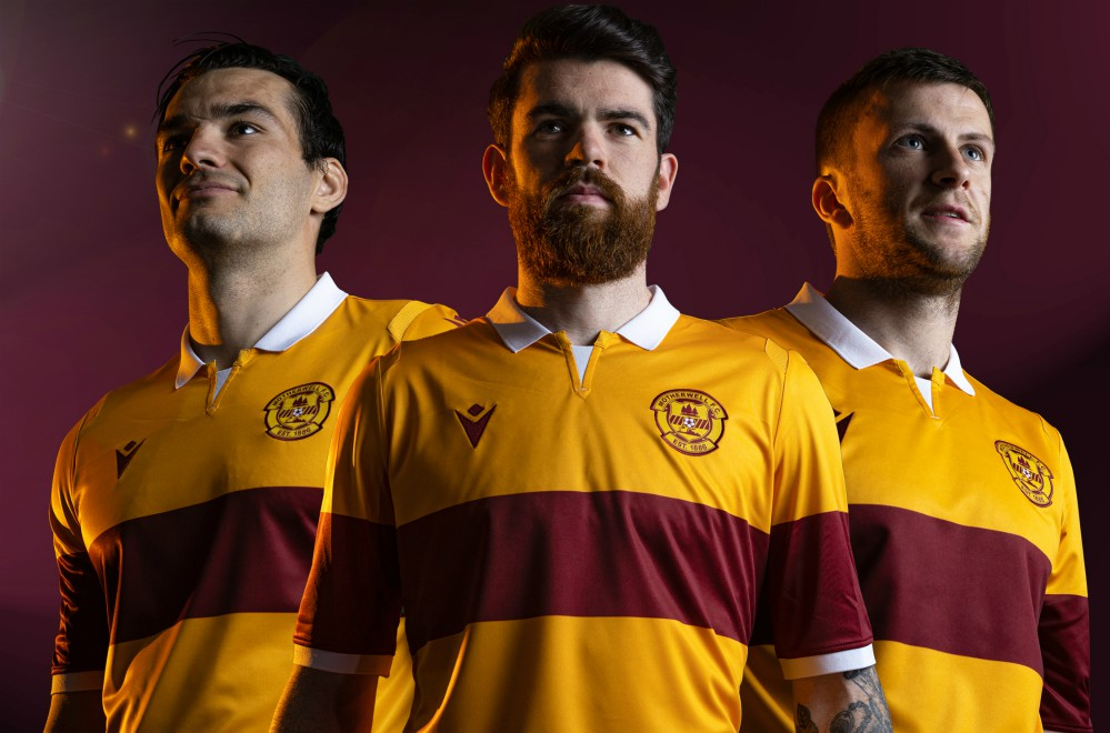 New Motherwell Home Strip 2020-21