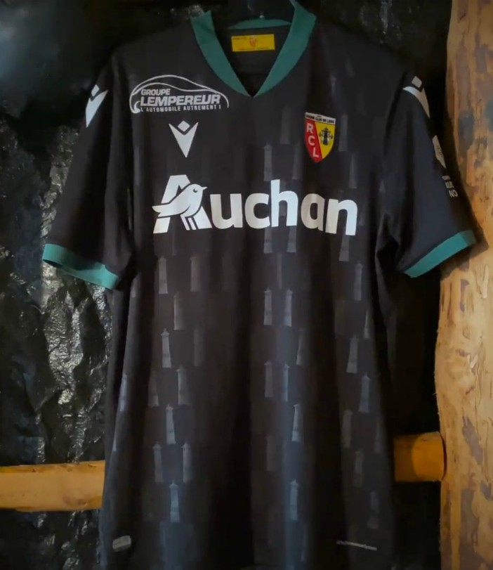 New RC Lens Away Jersey 2020-2021