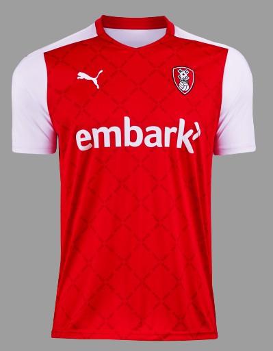 New Rotherham United Shirt 2020-21