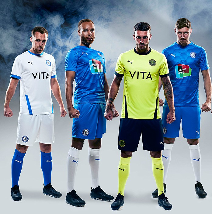 New Stockport County Puma Kit 2020-21
