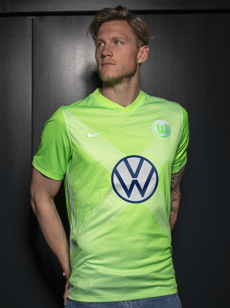 New VFl Wolfsburg Jersey 2020 2021 Home