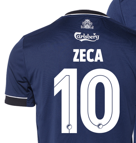 Numbers and Letters on Copenhagen Football Shirt 2020 2021
