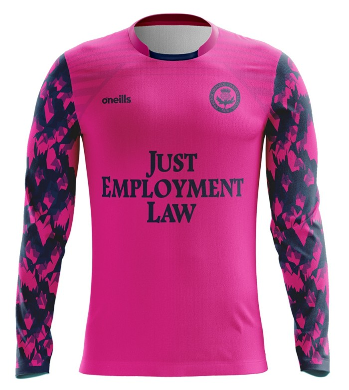 Pink Partick Thistle Goalkeeper Shirt 2020-2021