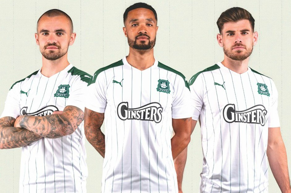 Plymouth Argyle New Away Kit 20-21