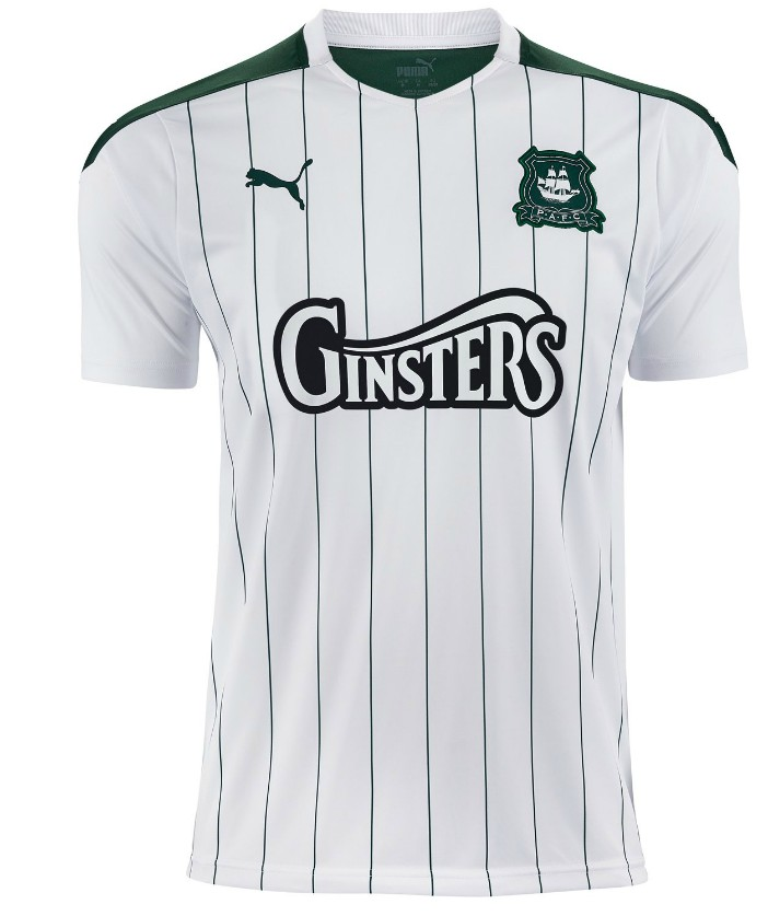 Plymouth Argyle White Shirt 2020-2021