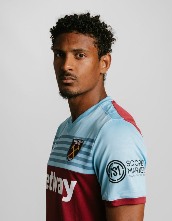 Scope Markets West Ham Sleeve Sponsor 2020