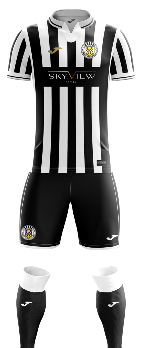 St Mirren New Kit 2020-2021