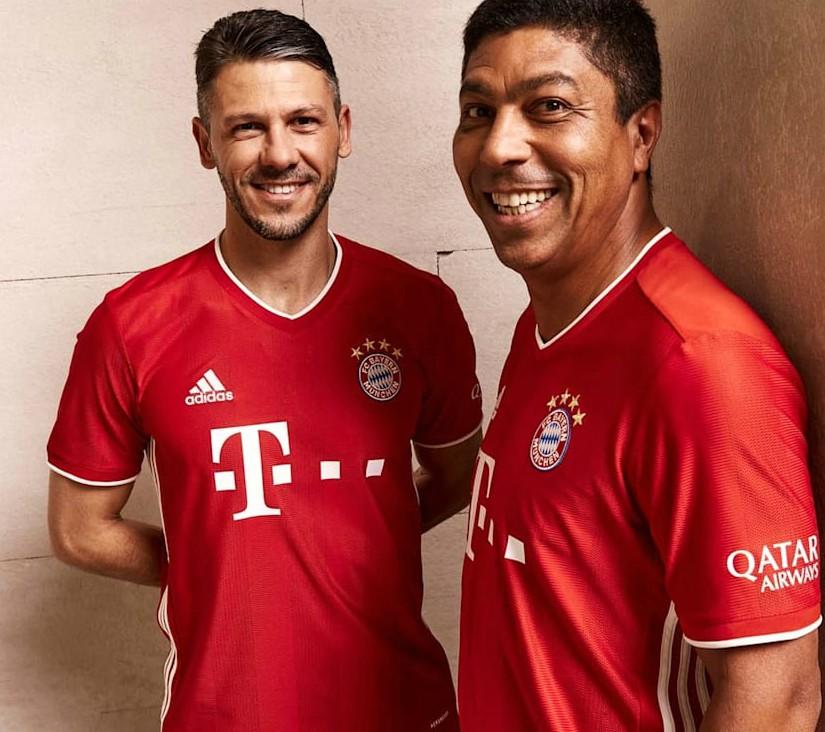 Stripes on Bayern Munich Shirt 2020-2021